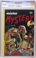 "Golden Age (1938-1955):Horror, Mister Mystery #2 Davis Crippen (""D"" Copy) pedigree (MRPublications, 1951) CGC NM 9.4 Off-white pages. What's harder tofin..."