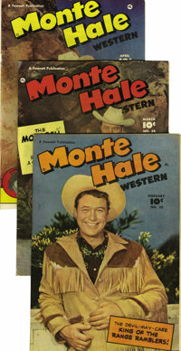 Monte Hale Western #32-40 and 44 Group - Mile High pedigree (Fawcett, 1949-50) Condition: Average NM-. Included here are...