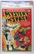 Golden Age (1938-1955):Science Fiction, Mystery in Space #4 White Mountain pedigree (DC, 1951) CGC NM- 9.2White pages. This fourth outing of DC's premier science-f...