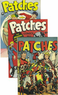 Golden Age (1938-1955):Humor, Patches #1-4 Group Mile High pedigree (Rural Home/Patches/Orbit, 1945-46). The condition of these books is truly excellent -... (Total: 4 Comic Books)