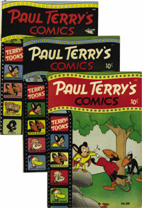 Paul Terry's Comics Group (St. John, 1951) Condition: Average FN+. A VF+ copy of the 100-page issue #106 is the highligh...
