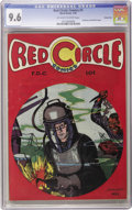 Golden Age (1938-1955):Superhero, Red Circle Comics #1 Carson City pedigree (Rural Home, 1945) CGC NM+ 9.6 Off-white to white pages. A nifty underwater cover ...