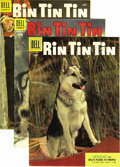 Silver Age (1956-1969):Adventure, Rin Tin Tin Group (Dell and Gold Key, 1954-60) Condition: Average VF+. In addition to #7, 9-14, 16-19, 22, 23, 25, 30-33, 35... (Total: 21 Comic Books)