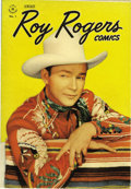 Golden Age (1938-1955):Western, Roy Rogers Comics #1 (Dell, 1948) Condition: VF/NM. After starringin more than a dozen issues of Dell's Four Color, Roy...