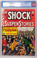 Golden Age (1938-1955):Horror, Shock SuspenStories #2 Gaines File pedigree 7/10 (EC, 1952) CGCNM/MT 9.8 Off-white to white pages. One of Wally Wood's most...
