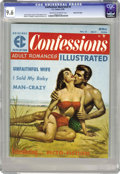 Magazines:Romance, Confessions Illustrated #2 Gaines File pedigree 8/11 (EC, 1956) CGC NM+ 9.6 Cream to off-white pages. This wondrous copy fro...