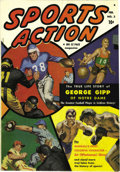 Golden Age (1938-1955):Non-Fiction, Sports Action #2 Double Cover (Atlas, 1950) Condition: NM. Thiscopy's inside cover is absolutely immaculate, and the pages ...