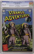Golden Age (1938-1955):Science Fiction, Strange Adventures #1 (DC, 1950) CGC FN+ 6.5 Off-white to whitepages. No self-respecting Golden Age DC collector doesn't co...