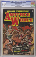 "Golden Age (1938-1955):Horror, Strange Stories from Another World #2 Davis Crippen (""D"" Copy)pedigree (Fawcett, 1952) CGC VF+ 8.5 Off-white to white pages...."