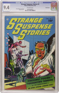 Golden Age (1938-1955):Horror, Strange Suspense Stories #2 Crowley Copy pedigree (Fawcett, 1952)CGC NM 9.4 Off-white pages. This pedigree offering has bri...