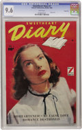 Golden Age (1938-1955):Romance, Sweetheart Diary #1 Carson City pedigree (Fawcett, 1949) CGC NM+9.6 White pages. The Carson City collection can always be c...