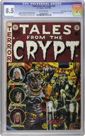 "Golden Age (1938-1955):Horror, Tales From the Crypt #33 Davis Crippen (""D"" Copy) pedigree (EC,1952) CGC VF+ 8.5 Off-white pages. The stomach-turning origi..."