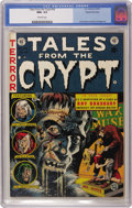 Golden Age (1938-1955):Horror, Tales From the Crypt #34 Gaines File pedigree 1/12 (EC, 1953) CGCNM+ 9.6 Off-white pages. Highlights include an adaptation ...