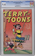 "Golden Age (1938-1955):Funny Animal, Terry-Toons Comics #33 Davis Crippen (""D"" Copy) pedigree (Timely,1945) CGC NM 9.4 Off-white to white pages. This is the onl..."