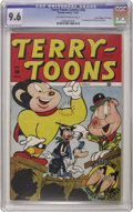 "Golden Age (1938-1955):Funny Animal, Terry-Toons Comics #50 Davis Crippen (""D"" Copy) pedigree (Timely,1946) CGC NM+ 9.6 Off-white to white pages. Heckle and Jec..."