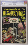 Golden Age (1938-1955):Horror, This Magazine Is Haunted #4 Crowley Copy pedigree (Fawcett, 1952)CGC NM- 9.2 Off-white pages. If you like your horror espec...