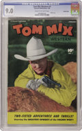 Golden Age (1938-1955):Western, Tom Mix Western #1 Crowley Copy pedigree (Fawcett, 1948) CGC VF/NM9.0 Cream to off-white pages. Tom Mix and his horse Tony ...