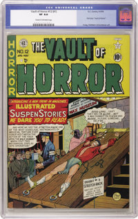 Vault of Horror #12 (EC, 1950) CGC VF 8.0 Cream to off-white pages. A scarce EC book, this was one of the first horror t...