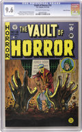 Golden Age (1938-1955):Horror, Vault of Horror #15 Gaines File pedigree (EC, 1950) CGC NM+ 9.6Off-white to white pages. Johnny Craig drew this issue's cov...