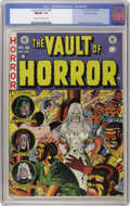 Golden Age (1938-1955):Horror, Vault of Horror #28 Gaines File pedigree 6/12 (EC, 1953) CGC NM/MT9.8 Off-white to white pages. Here is an unread/uncircula...