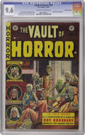 Golden Age (1938-1955):Horror, Vault of Horror #29 Gaines File pedigree 8/11 (EC, 1953) CGC NM+9.6 Off-white to white pages. A gruesome ghoul attack cover...
