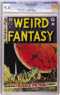Golden Age (1938-1955):Science Fiction, Weird Fantasy #13 Gaines File pedigree 3/12 (EC, 1952) CGC NM 9.4White pages. This is the first NM copy we've seen of this ...