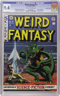 Golden Age (1938-1955):Science Fiction, Weird Fantasy #15 Gaines File pedigree 12/12 (EC, 1952) CGC NM 9.4Off-white to white pages. Al Williamson drew two stories ...