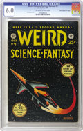 """Golden Age (1938-1955):Science Fiction, Weird Science-Fantasy Annual #2 Davis Crippen (""""D"""" Copy) pedigree (EC, 1953) CGC FN 6.0 Off-white to white pages. Al Feldste..."""