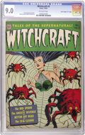 """Golden Age (1938-1955):Horror, Witchcraft #3 Davis Crippen (""""D"""" Copy) pedigree (Avon, 1952) CGC VF/NM 9.0 Off-white pages. One of the things that make Davi..."""