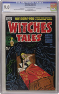 Golden Age (1938-1955):Horror, Witches Tales #2 File Copy (Harvey, 1951) CGC VF/NM 9.0 Cream tooff-white pages. These Harvey horror books served up grueso...