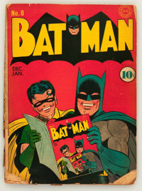 Batman #8 (DC, 1942) Condition: FR/GD