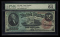 Large Size:Legal Tender Notes, Fr. 42 $2 1869 Legal Tender PMG Choice Uncirculated 64 EPQ.. ...