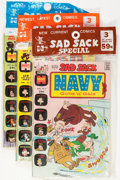 Bronze Age (1970-1979):Cartoon Character, Harvey-Pax Comics Sad Sack-Related File Copy Group (Harvey, 1970s)Condition: NM-.... (Total: 12 Items)