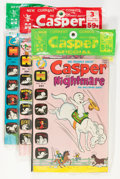 Bronze Age (1970-1979):Cartoon Character, Harvey-Pax Comics Casper-Related File Copy Group (Harvey, 1970s)Condition: Average NM-.... (Total: 11 Items)