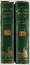 Books:Travels & Voyages, Winwood Reade. The African Sketch-Book. London: Smith, Elder, 1873. First edition. Two octavo volumes. Illustrated. ... (Total: 2 Items)