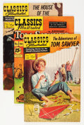 Golden Age (1938-1955):Classics Illustrated, Classics Illustrated Group (Gilberton, 1948-67) Condition: AverageVG/FN.... (Total: 67 Comic Books)