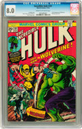 Bronze Age (1970-1979):Superhero, The Incredible Hulk #181 (Marvel, 1974) CGC VF 8.0 Cream tooff-white pages....
