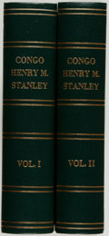Books:World History, Henry M. Stanley. The Congo and the Founding of its Free State. New York: Harper, 1885. First American edition. ... (Total: 2 Items)