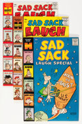Silver Age (1956-1969):Humor, Sad Sack Laugh Special #1-93 File Copy Long Box Group (Harvey, 1958-77) Condition: Average VF/NM....