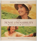 Books:Biography & Memoir, Emma Thompson. SIGNED. The Sense and Sensibility Screenplay& Diaries. New York: Newmarket Press, [1995]. First ...