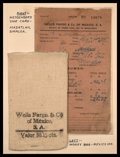 Miscellaneous:Other, Two Albums of Wells Fargo Related Materials.. ... (Total: 2 books)