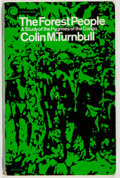 Books:Natural History Books & Prints, Colin M. Turnbull. The Forest People. A Study of the Pygmies of the Congo. New York: A Clarion Book, 1961. Third...