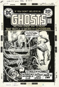 Original Comic Art:Covers, Nick Cardy - Ghosts #25 Cover Original Art (DC, 1974). A treasurehunter gets a welcome he'll never forget, in this weird an...