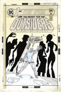 "Original Comic Art:Covers, Ernie Chan - First Issue Special #10 Cover Original Art (DC, 1976).Are you ready for the Outsiders? ""Doc"" Goodie, and his g..."