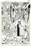 Original Comic Art:Splash Pages, Rob Liefeld and Karl Kesel - Hawk and Dove #4, Splash page 10Original Art (DC, 1988). Rob Liefeld completed his first signi...