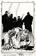 Original Comic Art:Covers, Tom Lyle and Scott Hanna - The Punisher #20 Cover Original Art(Marvel, 1997). Tom Lyle and Scott Hanna craft their version ...