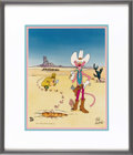 Animation Art:Limited Edition Cel, Cowboy Pink Panther and the Inspector Limited Edition Hand PaintedCel #72/750 (United Artists Pictures, 1992). The Inspecto...