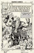 Original Comic Art:Covers, Paul Ryan and Tom Palmer - The Avengers #331 Cover Original Art(DC, 1993). It's Avengers, Quasar, Rage, She-Hulk, and Sersi...