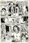 Original Comic Art:Panel Pages, Barry Smith and Sal Buscema - Conan the Barbarian #10, page 11Original Art (Marvel, 1971). Barry Smith's incredible storyte...