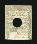 Colonial Notes:Connecticut, Connecticut June 1, 1780 40s POC Choice New. A wonderfully marginedand boldly printed example of this more common hole canc...
